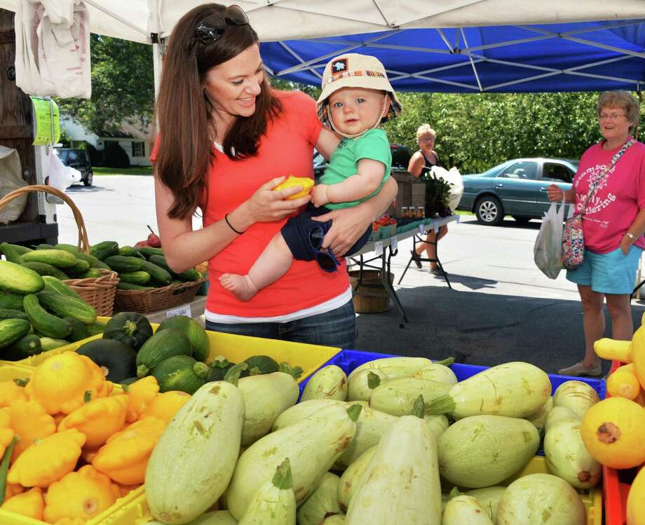 Clifton Park Farmers Market, July-October, 2 p.m. to 5 p.m., Thursdays, St. George's Church parking lot. Visit Web site. Photo: John Carl D'Annibale / 10023109A