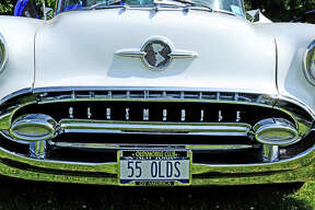 Olds was sitting in fifth in model year production in '55; just ahead of Pontiac, well behind Plymouth.