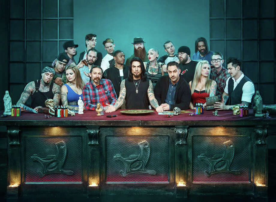 Bridgeport tattoo artist ES Barazza recently competed on season three of Spike TV's Ink Master. the show premiers on Tuesday, July 16. Photo: Contributed Photo