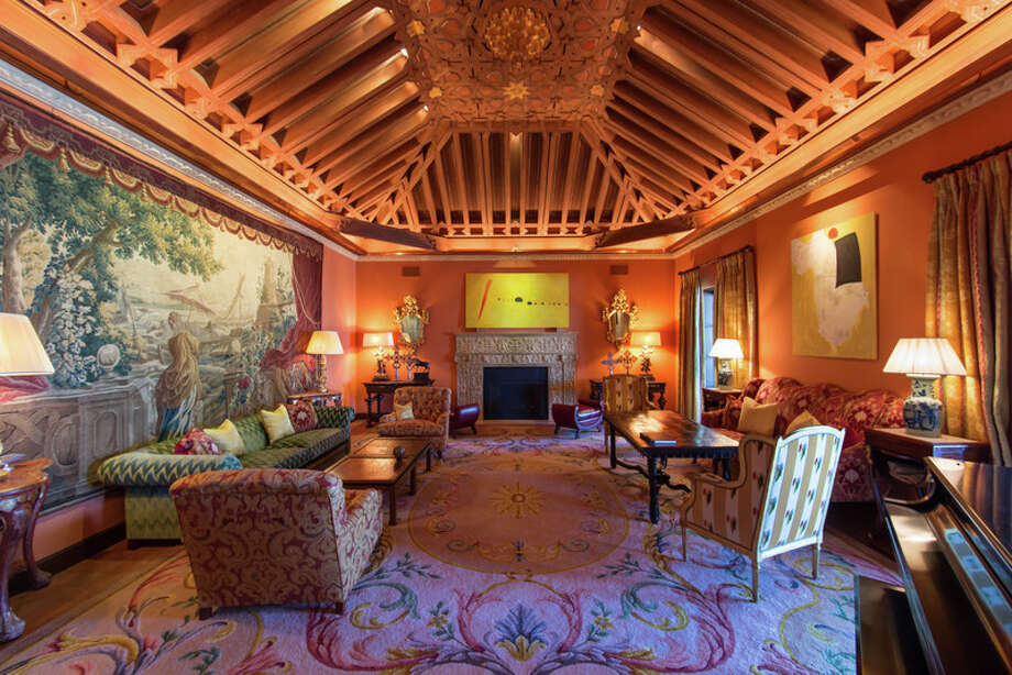 This California home has five stories underground and comes with some serious perks, including an indoor tennis court.The home, which is listed byMarcie Hartley of Hilton & Hyland, can be yours for a whopping $53 million.Photo:Courtesy of Mark Singer Photo: Mark Singer / Mark Singer Photography