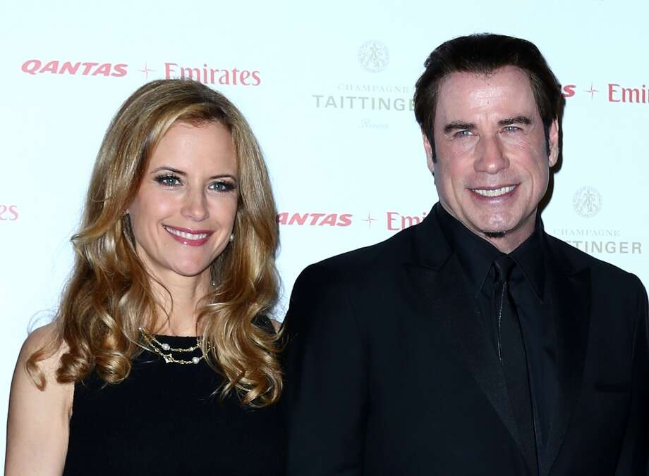 John Travolta has practiced Scientology since 1975 and attributes it to his breakout success in 'Welcome Back Kotter.'   His wife Kelly Preston also is a member of the church, and the two often publicly support its charity efforts.   (Photo by Marianna Massey/Getty Images) Photo: Marianna Massey, Getty Images