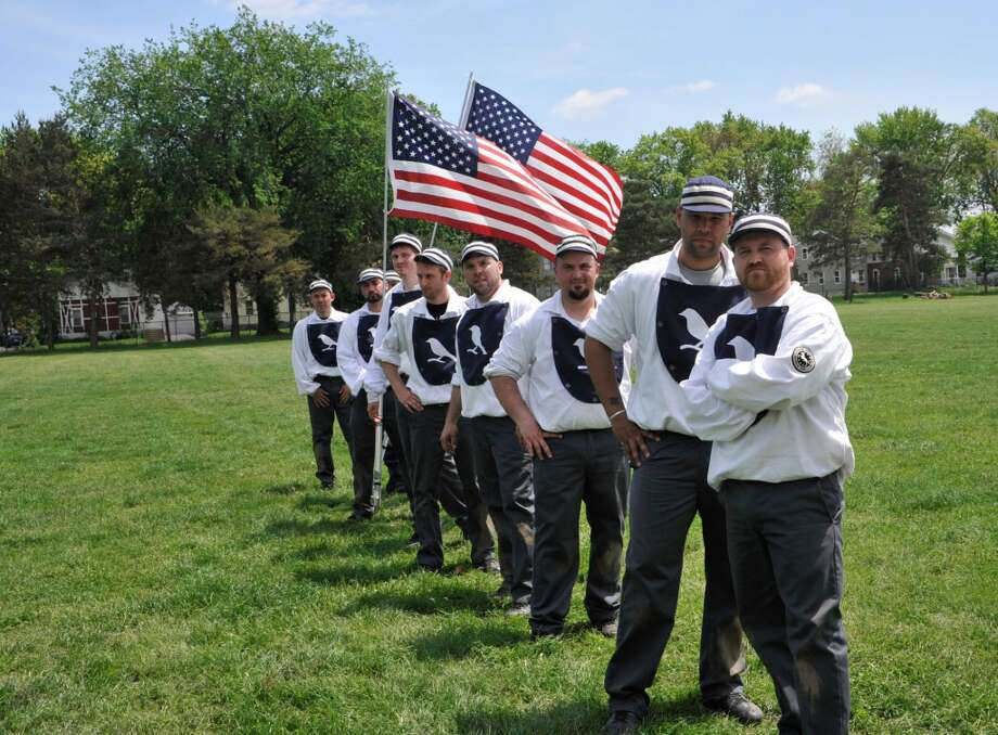 Billy Barnie's Blue Boys is one of the teams in the Coltsville Vintage Base Ball League, Hartford, Connecticut. They will be in Easton, Conn., on Saturday, July 13, 2013.