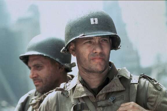 """Saving Private Ryan"" was beginning of Steven Spielberg and Hanks' long career together. (Dreamworks)"