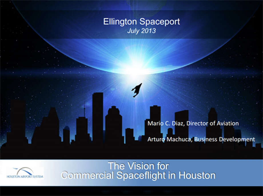 A plan presented to the City Council's Budget and Fiscal Affairs Committee details unique advantages Houston has over other emerging spaceport cities and outlines which types of spacecraft could be launched from populated areas.(Houston Airport System)