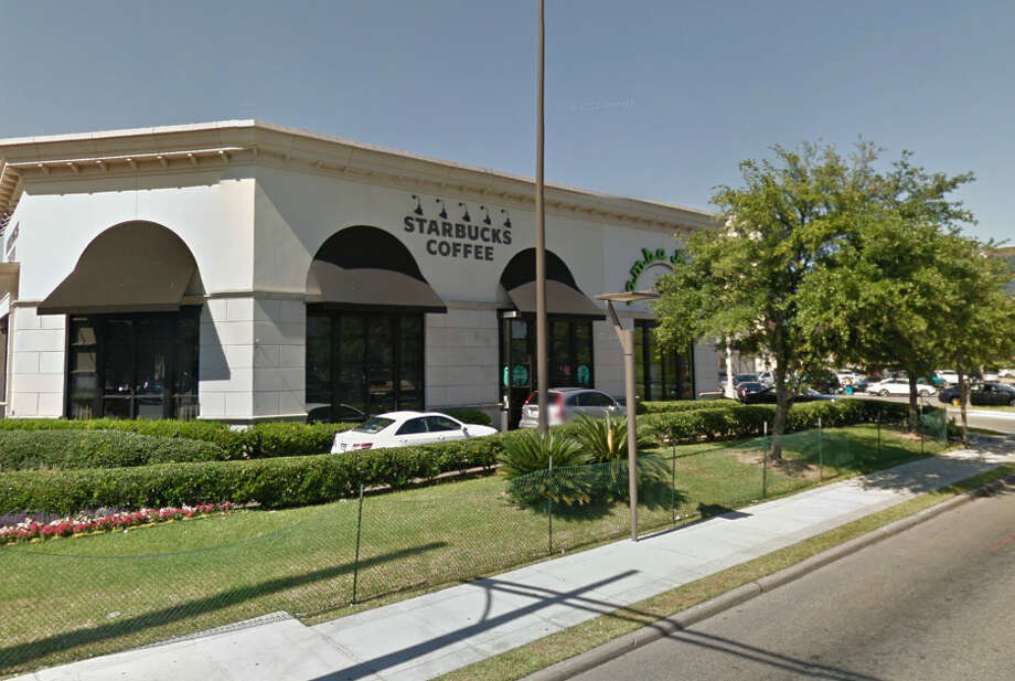The third-busiest Starbucks in America may feel like a random spot, unless you live in Houston. It's a giant drive-thru in front of a giant mall at Westheimer Road and Post Oak Boulevard.   ''It's an extremely high-volume store,'' Starbucks CFO Alstead said, adding that about 40 percent of Starbucks' U.S. portfolio is in drive-thrus.