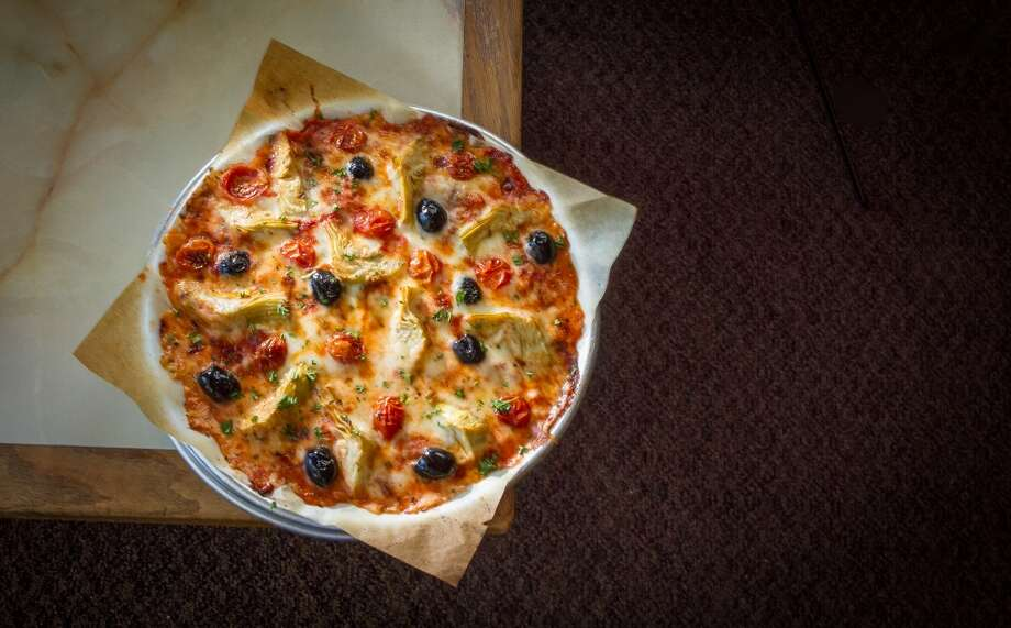 The No Crust Paper pizza at Mulberry Street Pizzeria.