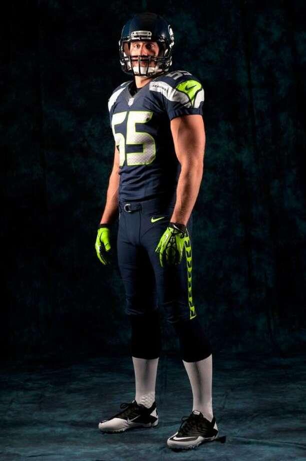 The new blue home uniform. Photo: Seahawks Image