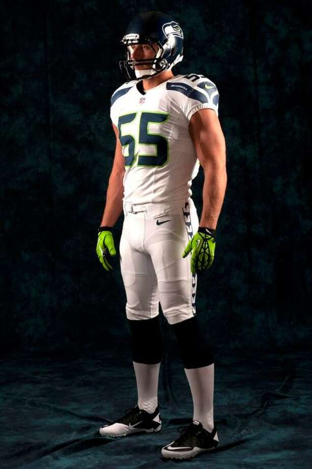 The new white away uniform. Photo: Seahawks Image