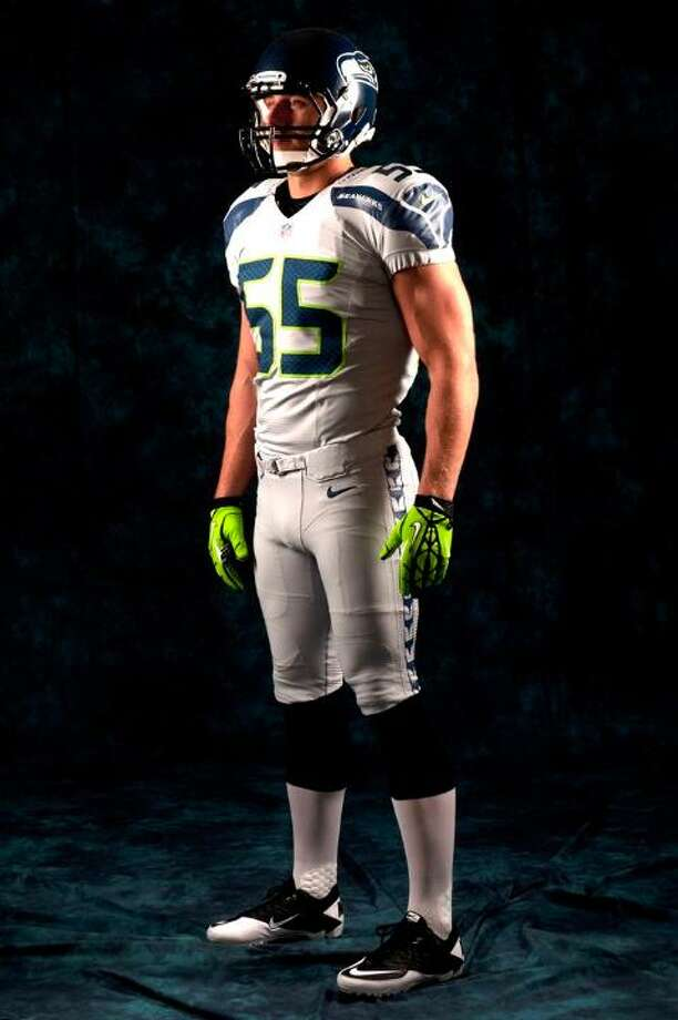 "The ""wolf gray"" alternate uniform. Photo: Seahawks Image"
