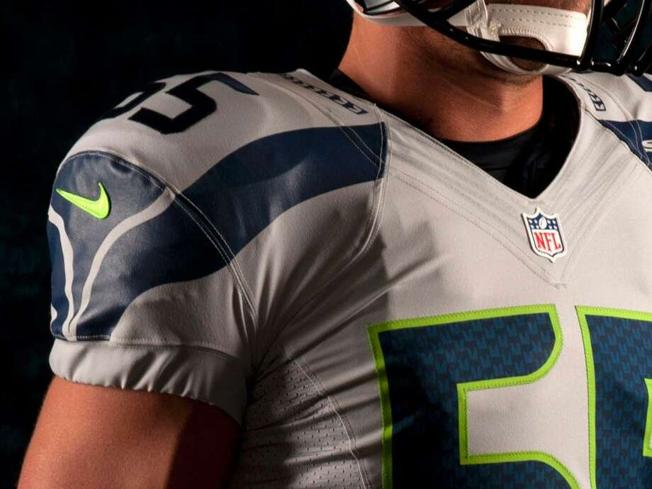 The new gray alternate uniform. Photo: Seahawks Image