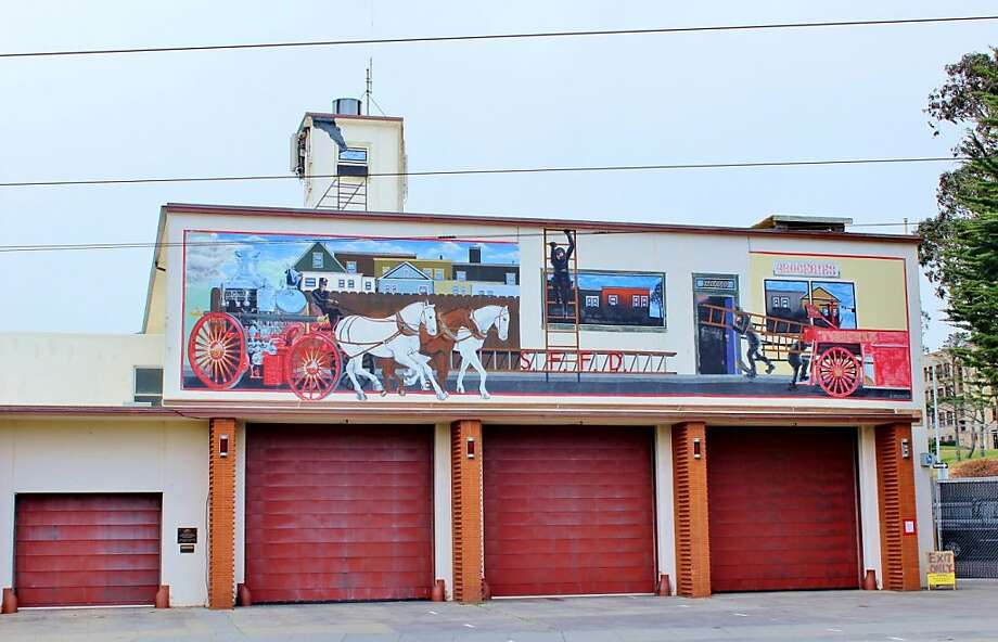 San Francisco Fire Department Station 15 mural Photo: Stephanie Wright Hession, Special To The Chronicle
