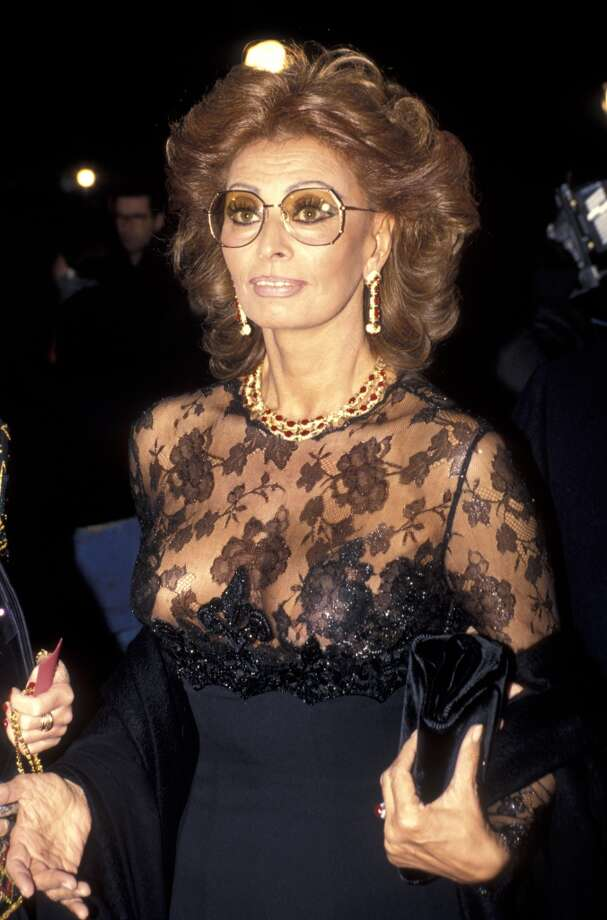 Sophia Loren during the 'Ready to Wear' Premiere at Ziegfeld Theater in New York City, December, 1994.  (Photo by Ron Galella/WireImage)