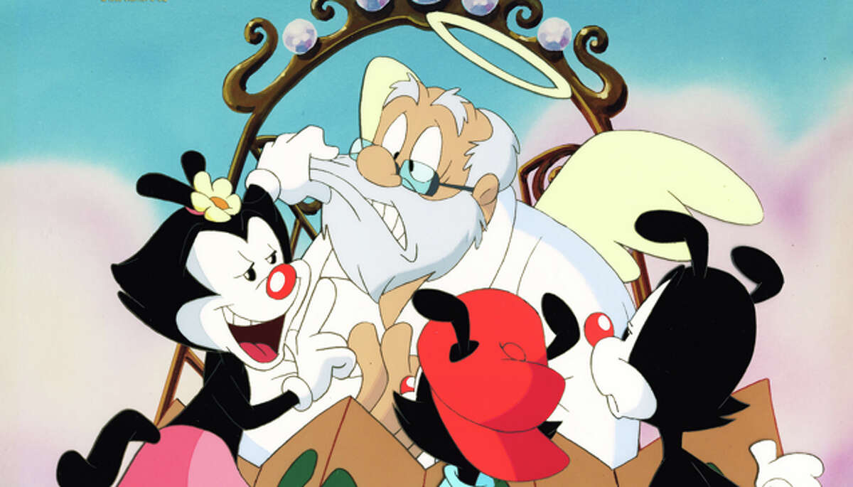2. 'Animaniacs' - The Warner siblings Yakko, Wakko and Dot grabbed the attention of the after-school set with sketch comedy segments peppered with some educational components for good measure. Bonus: Pinky and The Brain, two characters from the
