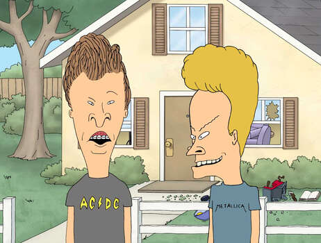 "MTV's ""Beavis & Butt-Head"" lived in the fictional Texas town Highland. (Note: A town named Highland does exist southwest of Fort Worth, but with only 60 people according to the 2000 U.S. Census, it's safe to assume this is not the same town where the animated duo went mall shopping and held down jobs at the local Burger World.) Photo: MTV"