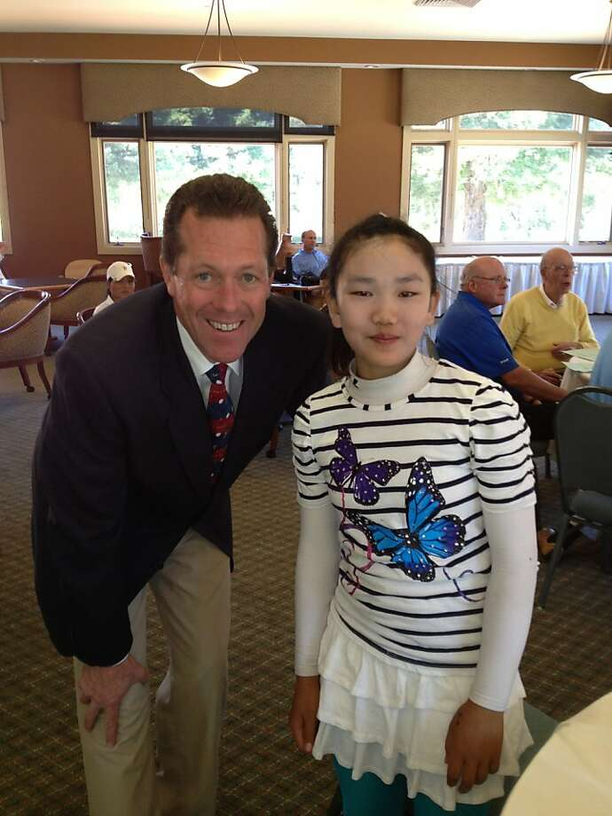 Lucy Li, 10, qualified for the U.S. women's amateur that will be held in August, 2013 Photo: Handout