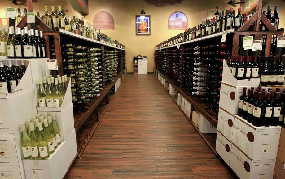 One of the wine aisles at Goody Goody Liquors, Wednesday, July 10, 2013, in Humble. The Dallas-based chain, at the Humble location has an interior that is fancier than most liquor stores. ( Karen Warren / Houston Chronicle ) Photo: Karen Warren, Staff / © 2013 Houston Chronicle
