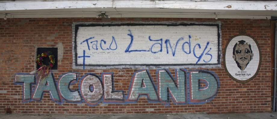 Taco Land night club on Josephine sits empty and is next to the northern reach of the new River Walk expansion. The once popular music venue has been closed since its owner Ramiro Ayala and employee Douglas Morgan were both shot to death there by Joseph Gamboa. Gamboa has been sentenced to death for committing the crime.