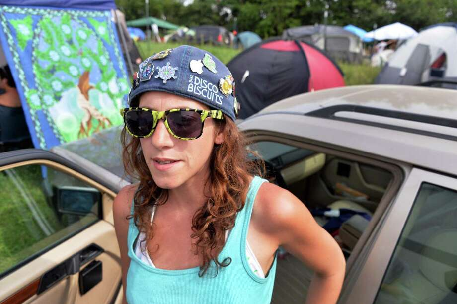 Cassy Alexander of Queens Camp at Bisco in Mariaville, NY Friday July 12, 2013.  (John Carl D'Annibale / Times Union) Photo: John Carl D'Annibale / 10023146A