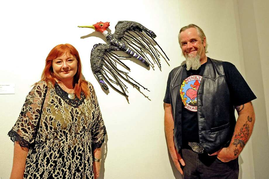 """Our photographers were at the AMSET """"Eyes Spy: Folk Art From the Permanent Collection"""" and """"Dreamscapes"""" opening on Friday, July12, 2013.  Did we see you there? Photo taken: Randy Edwards/The Enterprise Photo: Randy Edwards"""
