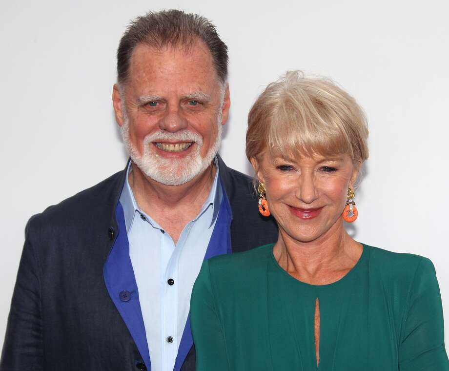 "Director Taylor Hackford (L) and wife actress Helen Mirren attend the premiere of Summit Entertainment's ""RED 2"" at Westwood Village on July 11, 2013 in Los Angeles, California.  (Photo by David Livingston/Getty Images)"