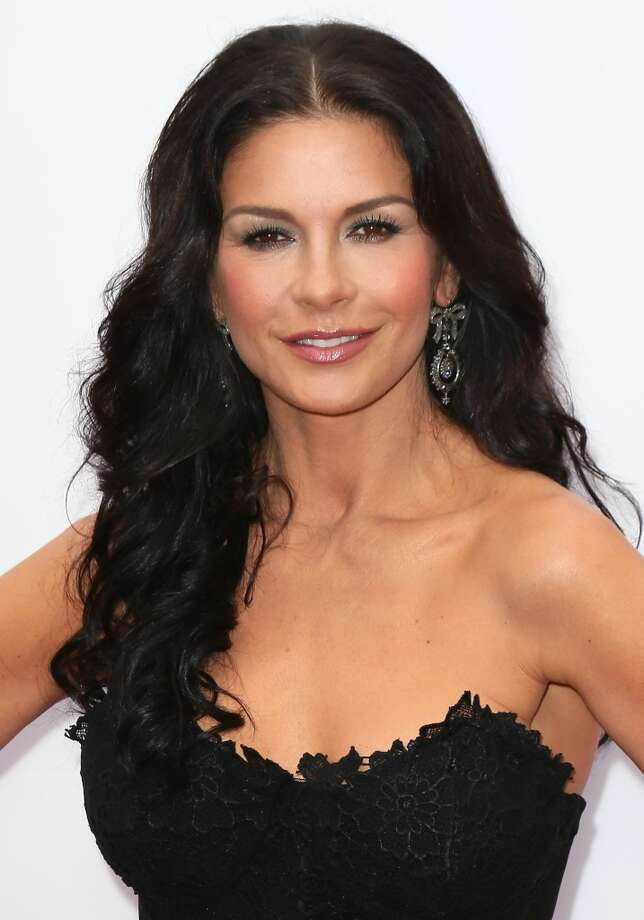 "Actress Catherine Zeta-Jones attends the premiere of Summit Entertainment's ""RED 2"" at Westwood Village on July 11, 2013 in Los Angeles, California.  (Photo by David Livingston/Getty Images)"