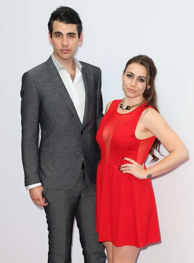 "Musician Nick Simmons (L) and sister TV personality Sophie Simmons attend the premiere of Summit Entertainment's ""RED 2"" at Westwood Village on July 11, 2013 in Los Angeles, California.  (Photo by David Livingston/Getty Images)"