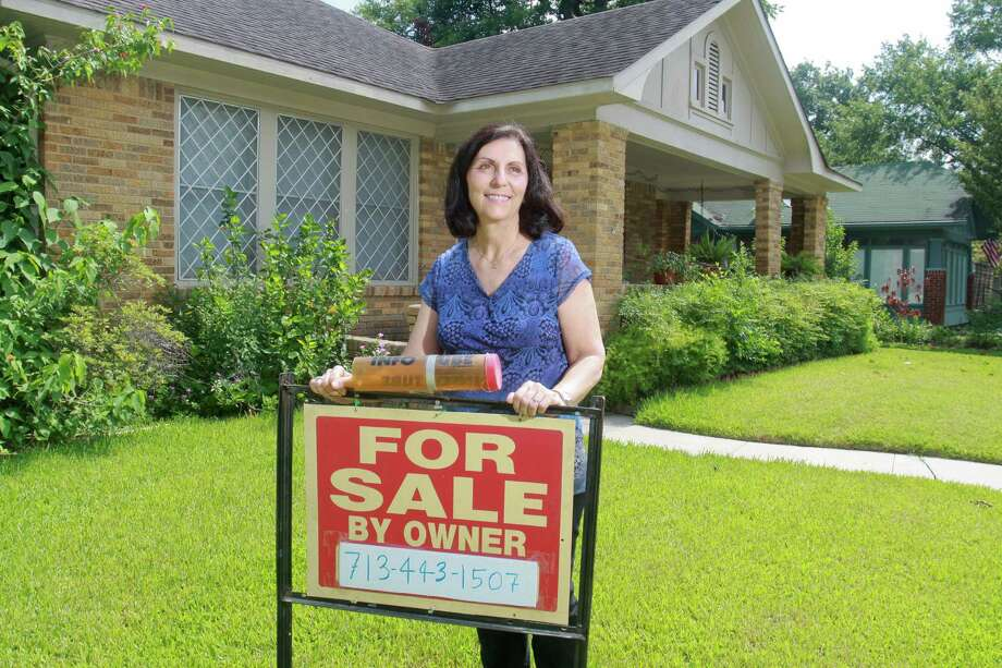 Sherry Kelm inherited three properties and has sold one of them, a duplex, without an agent. Now she expects to sell the others the same way. Photo: Gary Fountain, Freelance / Copyright 2013 Gary Fountain
