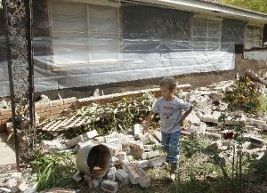 In November, 2011, a series of earthquakes that some researchers link to water disposal wells from oil field operations damaged homes in Oklahoma. A team of scientists determined that a 5.6 magnitude quake in Oklahoma  in 2011 was caused when oil drilling waste was injected deep  underground. The report was released March 26, 2013 by the journal  Geology. That makes it the most powerful quake to be blamed on deep  injections of wastewater, although not everyone agrees. Oklahoma's state  seismologists say the quake was natural.