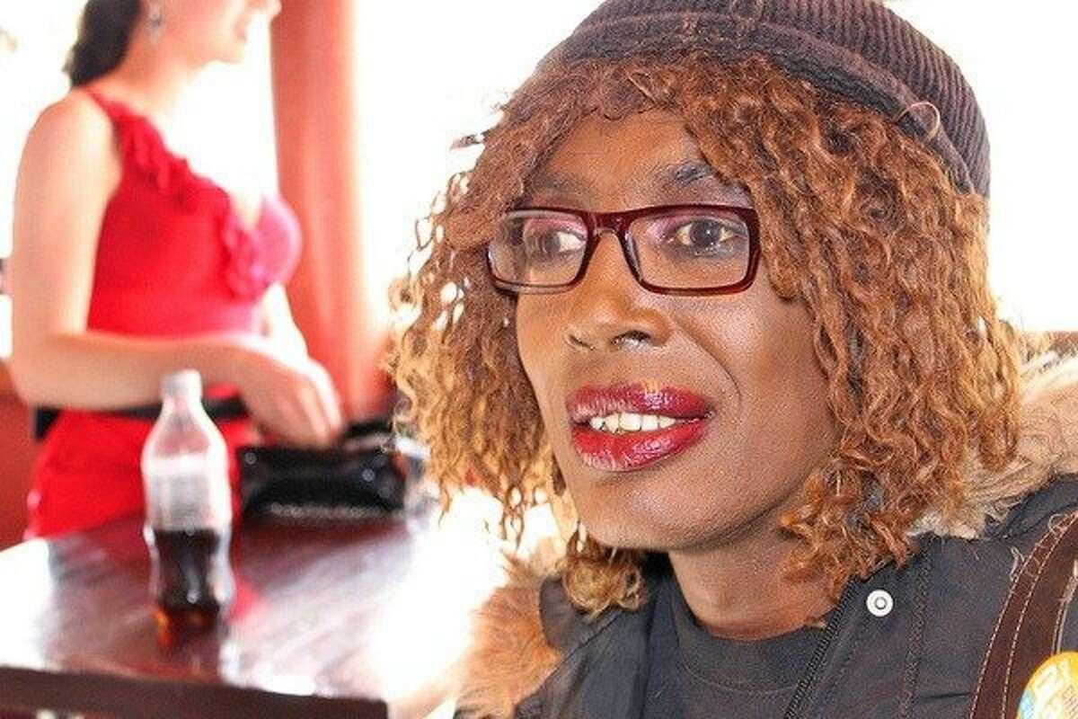 Jazzie Collins, a San Francisco community organizer and transgender activist.