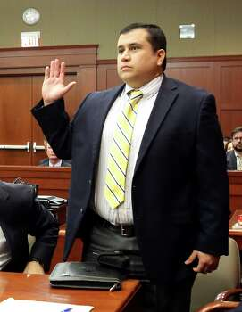 "April 30, 2013 – A visually heavier George Zimmerman shows up to court where he decides to forgo a ""stand your ground"" pretrial immunity hearing. A win in such of hearing would have kept any criminal or civil trials against him from proceeding. Photo: Orlando Sentinel, Joe Burbank, Pool"