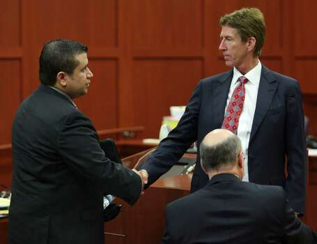 July 10, 2013 – George Zimmerman tells Judge Debra Nelson he will not testify in his own defense. Photo: Orlando Sentinel, Gary W. Green, Pool