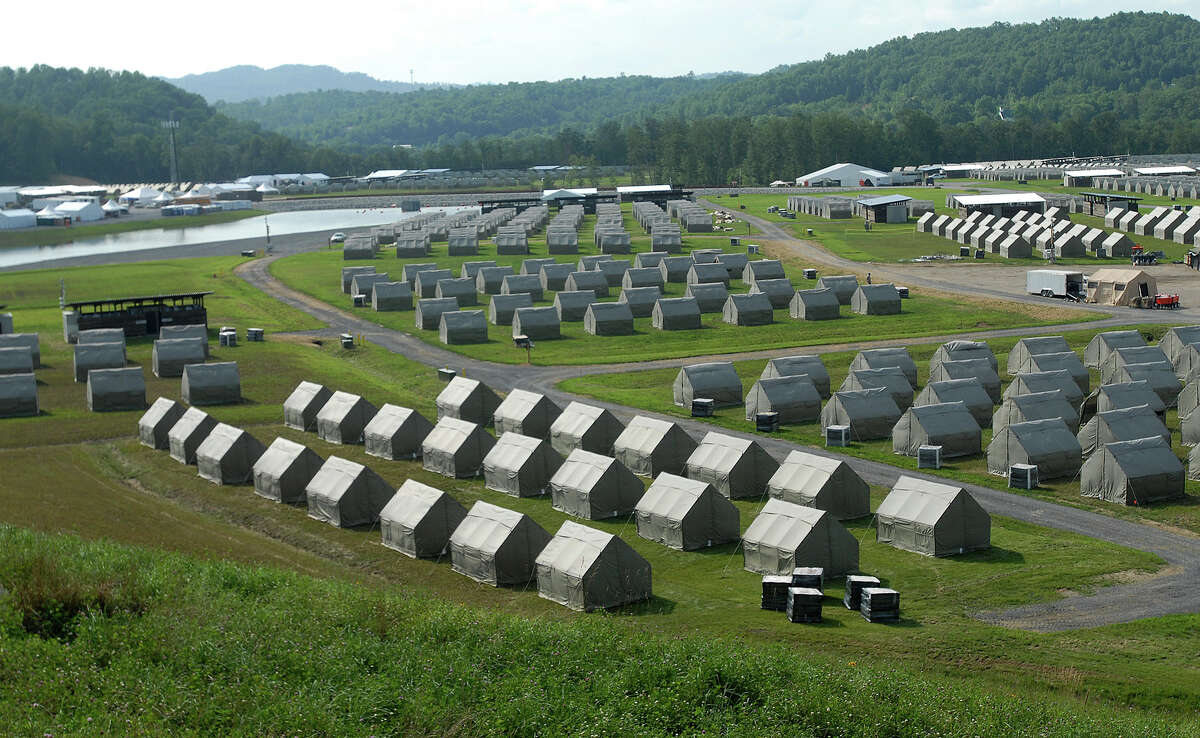 The mountains near the Summit Bechtel Family National Scout Reserve in Glen Jean, W.Va., will test the physical fitness of Scouts attending the Jamboree.