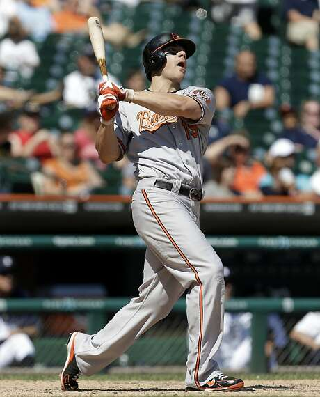 Baltimore's Chris Davis sees 61 as the real single-season home run record. Photo: Paul Sancya, Associated Press