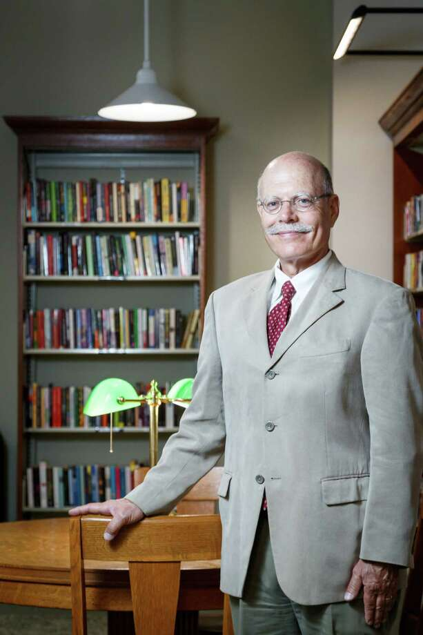 John Augelli, Executive Director of the Rosenberg Library, poses for a photo, Monday, July 8, 2013, in Galveston. Photo: Michael Paulsen, Houston Chronicle / © 2013 Houston Chronicle