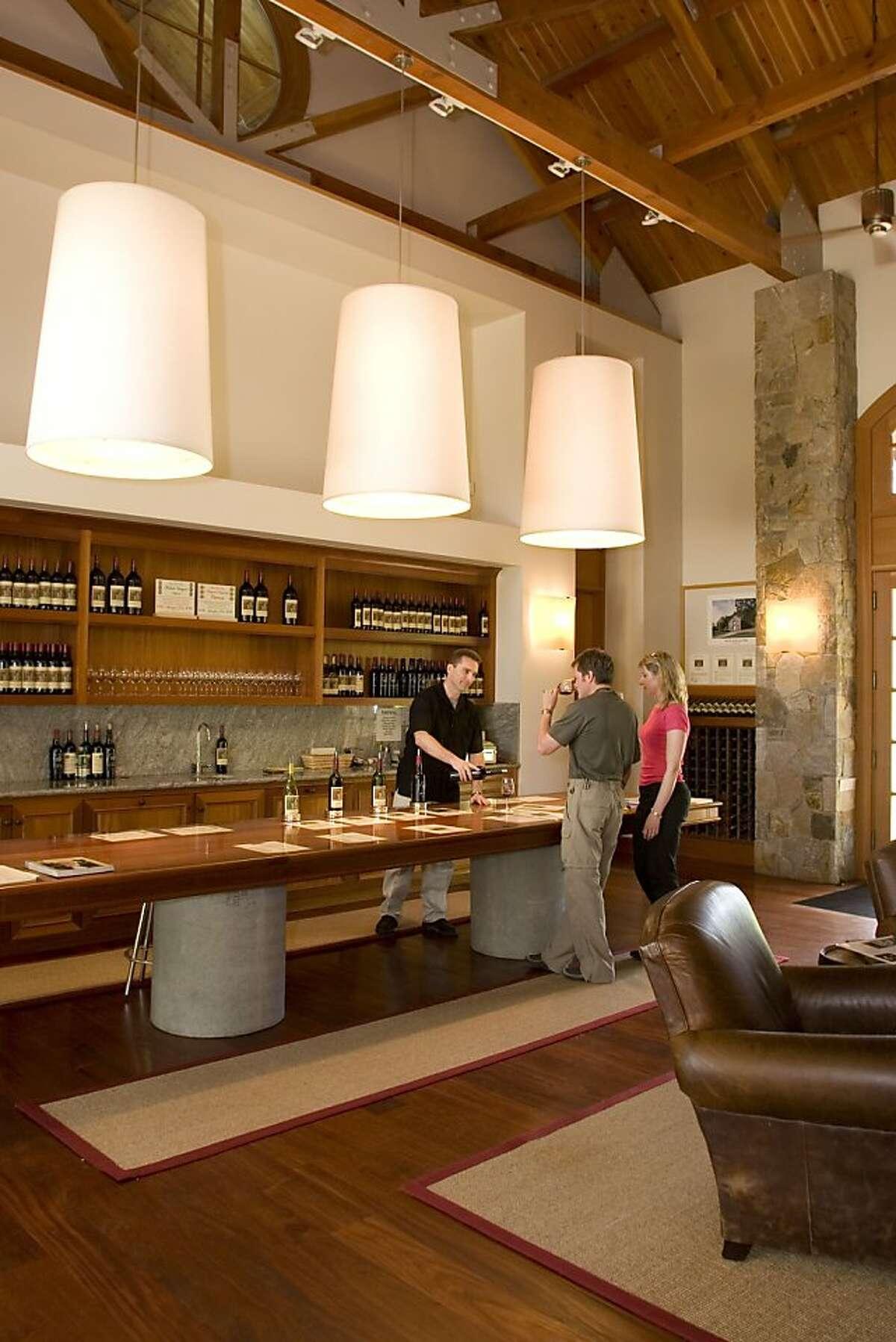 Heitz Tasting Room - Interior