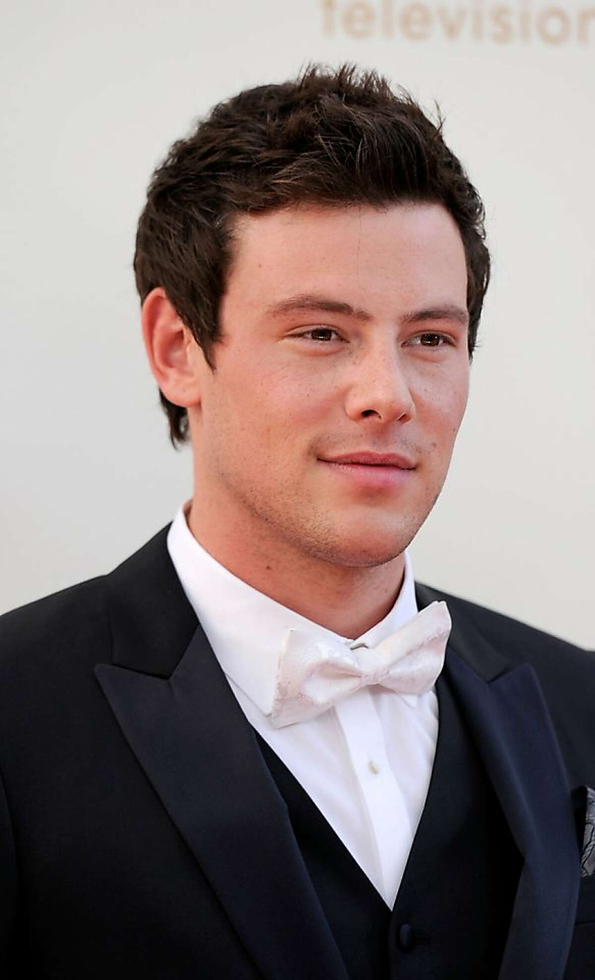 LOS ANGELES, CA - SEPTEMBER 18: Actor Cory Monteith arrives at the 63rd Annual Primetime Emmy Awards held at Nokia Theatre L.A. LIVE on September 18, 2011 in Los Angeles, California. (Photo by Frazer Harrison/Getty Images)