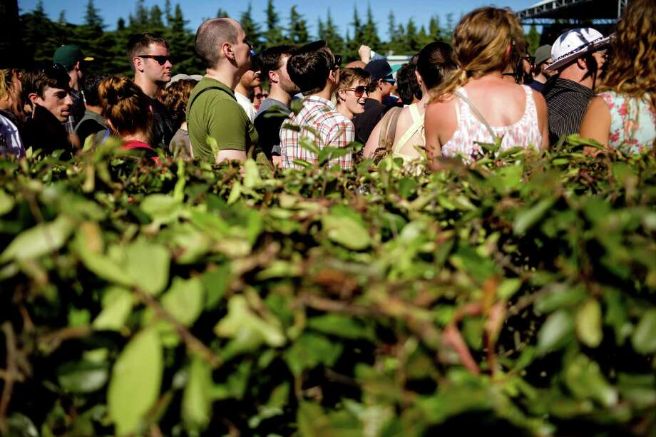 Standstill foot traffic proved troublesome for attendees hoping to see closely-scheduled music acts during Sub Pop's Silver Jubilee Saturday, July 13, 2013, in the Georgetown neighborhood of Seattle. The free event commemorated 25 years of existence for the Seattle-local label. Photo: JORDAN STEAD, SEATTLEPI.COM / SEATTLEPI.COM