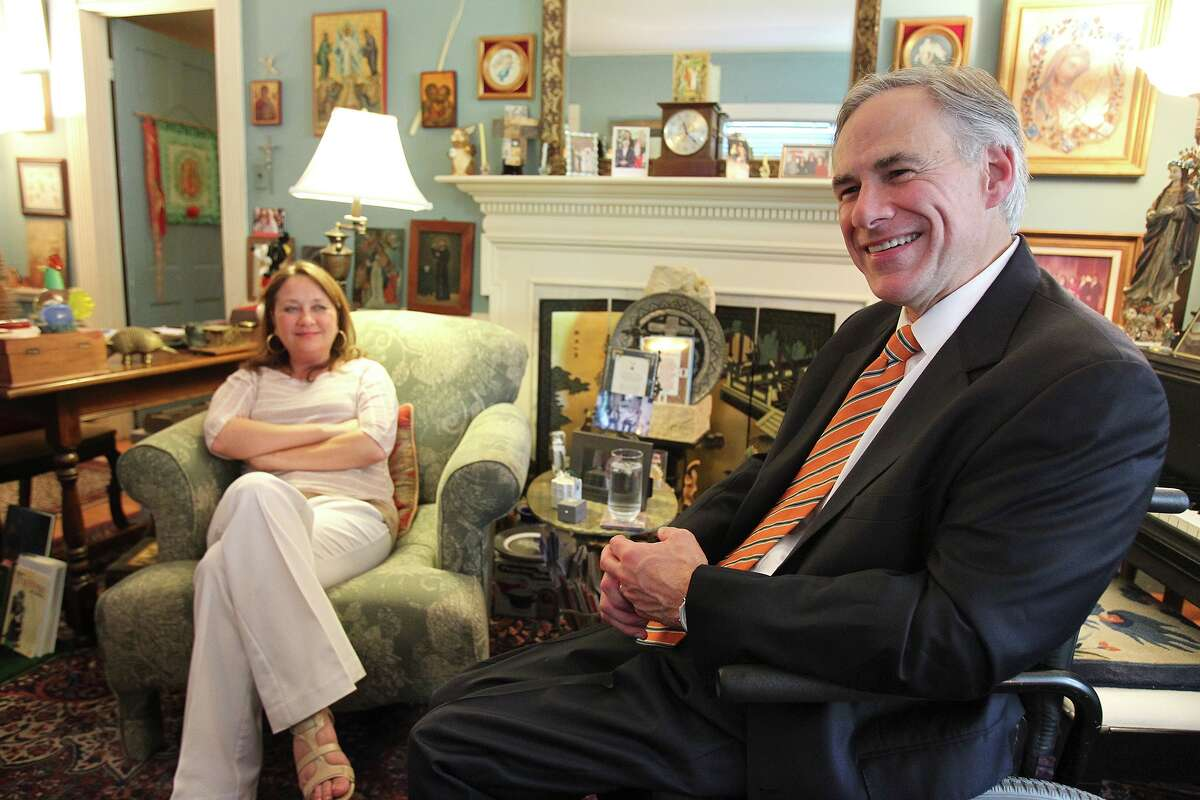 Attorney General Greg Abbott and his wife, Cecilia, met at the University of Texas and had been married almost three years when he was paralyzed when a tree fell on him. He said his life