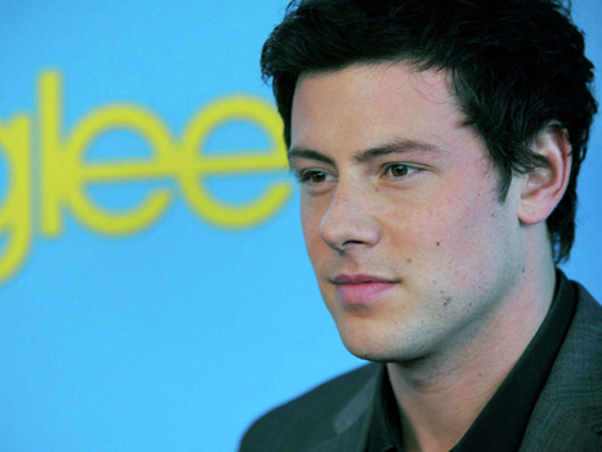 FILE - In this Monday April 12, 2010 file photo, Cory Monteith, a cast member in the television series