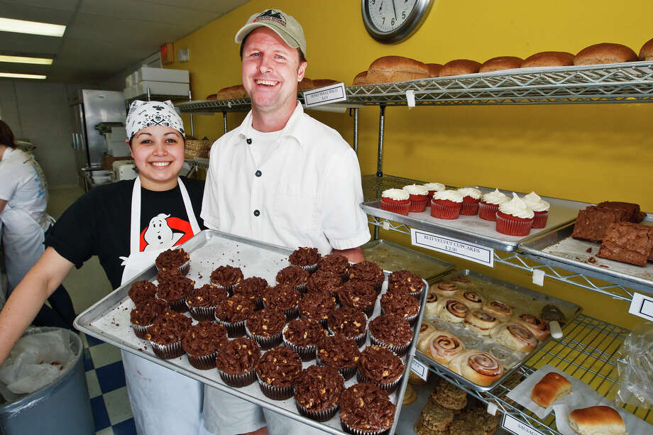 One reader, creation88, says the list is incomplete without Broadway Daily Bread's Chocolate Chocolate Chip cookies. And you might also like their chocolate cupcakes (pictured). Photo: MARVIN PFEIFFER, PRIME TIME NEWSPAPERS / Prime Time Newspapers 2010