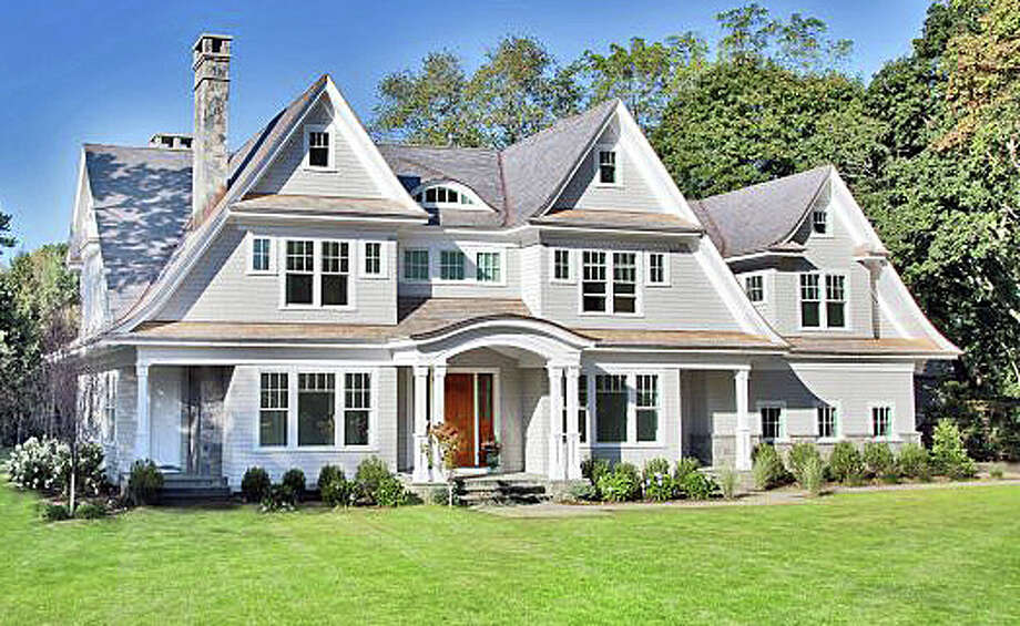 The house at 4 Old Hill Farms Road was recently sold for $3,500,000. Photo: Contributed Photo / Westport News contributed