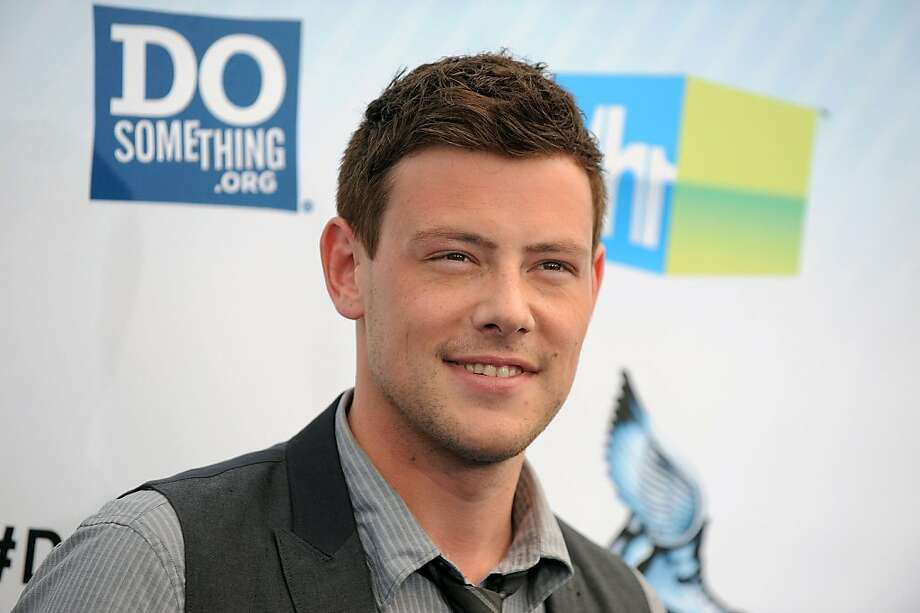 "Cory Monteith, 1982-2013: The Canadian-born actor who shot to fame in the hit TV series ""Glee"" died of a drug heroin overdose on July 13. Photo: Jordan Strauss, Associated Press"