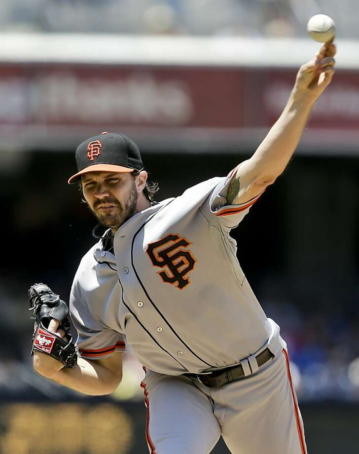 Barry Zito gave up three home runs and was pulled with no one out in the third. Photo: Lenny Ignelzi, Associated Press