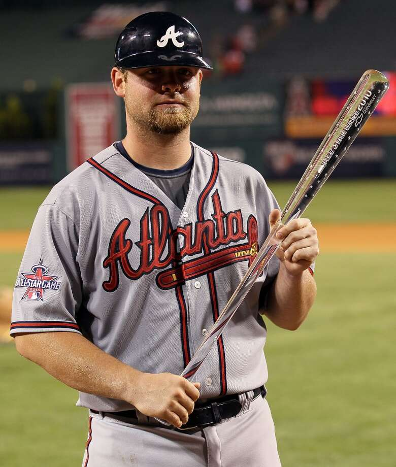 2010 - Brian McCann  Team: Atlanta Braves  Location: Anaheim, Calif.  All-Star game result: National League 3, American League 1