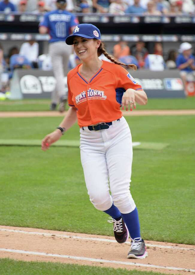 Alyssa Milano attends the 2013 Taco Bell All-Star Legends & Celebrity Softball Game at Citi Field on July 14, 2013 in the Queens borough of New York City. Photo: Theo Wargo, WireImage / Getty Images