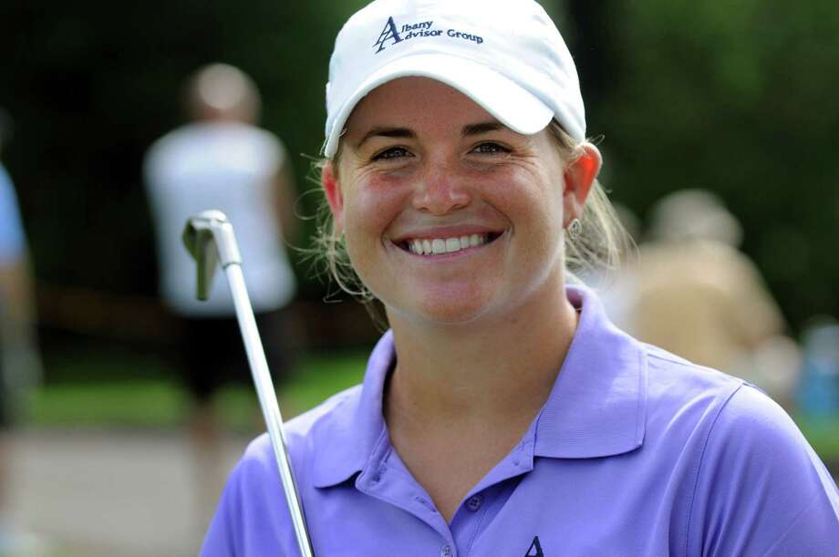 Jackie Stoelting, formerly Jackie Barenborg, of Vero Beach, Fla. is the leader after the second round of the LPGA Futures Tour's Price Chopper Tour Championship on Saturday, Sept. 10, 2011, at Capital Hills Golf Course in Albany, N.Y. (Cindy Schultz / Times Union) Photo: Cindy Schultz / 00014586A
