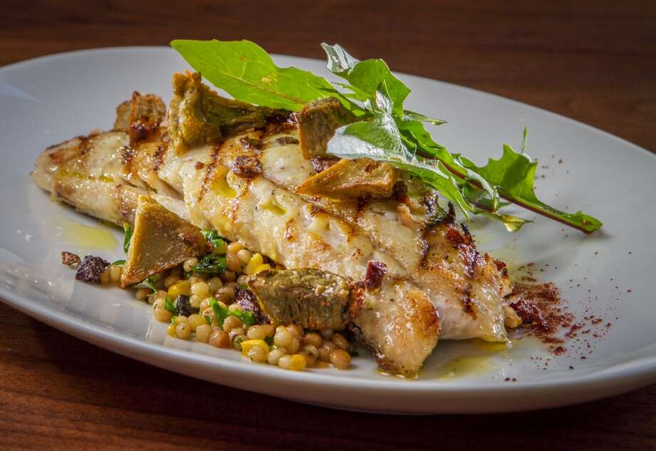 The Grilled Pacific Coast Rock Cod at Farmshop in Larkspur.