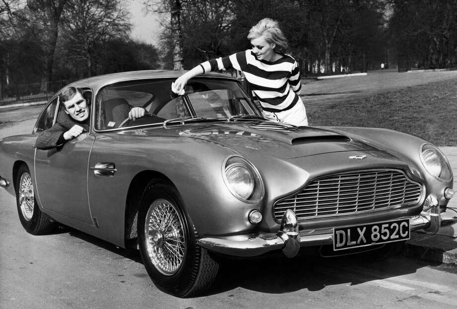 Aston Martin Db5 In London In 1965 Photo: Getty Images