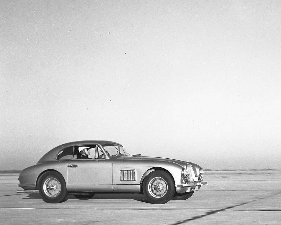 December 31, 1950:  Briggs Cunningham drove this Aston-Martin DB2 in the first race to be held at Sebring International Raceway, the Sam Collier Memorial Six-Hour Grand Prix.  Cunningham finished 17th overall. Photo: RacingOne, Getty Images / ISC Archives