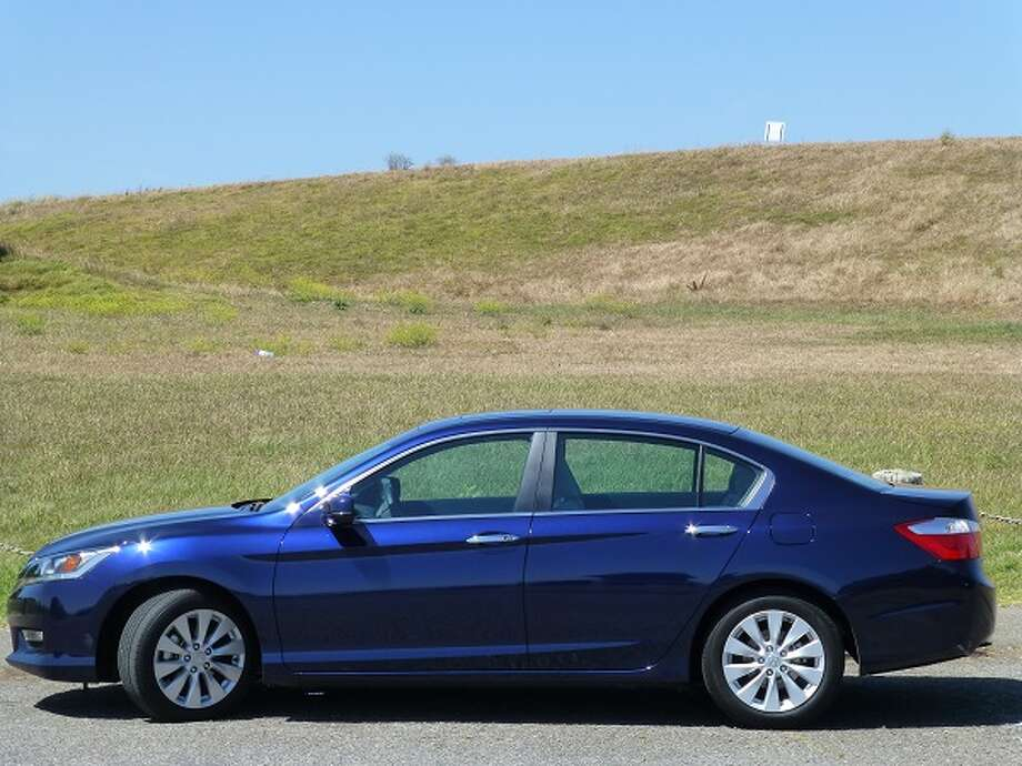 The 2013 Honda Accord gets our Stealth Car of the Year award -- it's a perfectly good-lucking car that doesn't stand out, but soldiers on in that traditional Honda fashion.  (All photos by Michael Taylor)